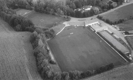 Die neuen Sportanlagen bei Aubenham